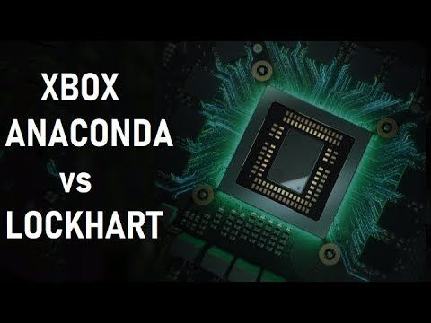Xbox Anaconda vs Xbox Lockhart - Native 4K 60 FPS vs 1080p