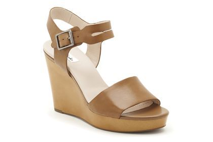 Clarks Orleans Jazz, Light Tan Leather, Womens Casual Sandals