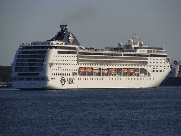 MSC Opera, sailed with my husband for our 4th wedding anniversary