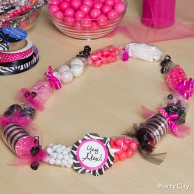 Graduation Candy Lei How-To - Party City