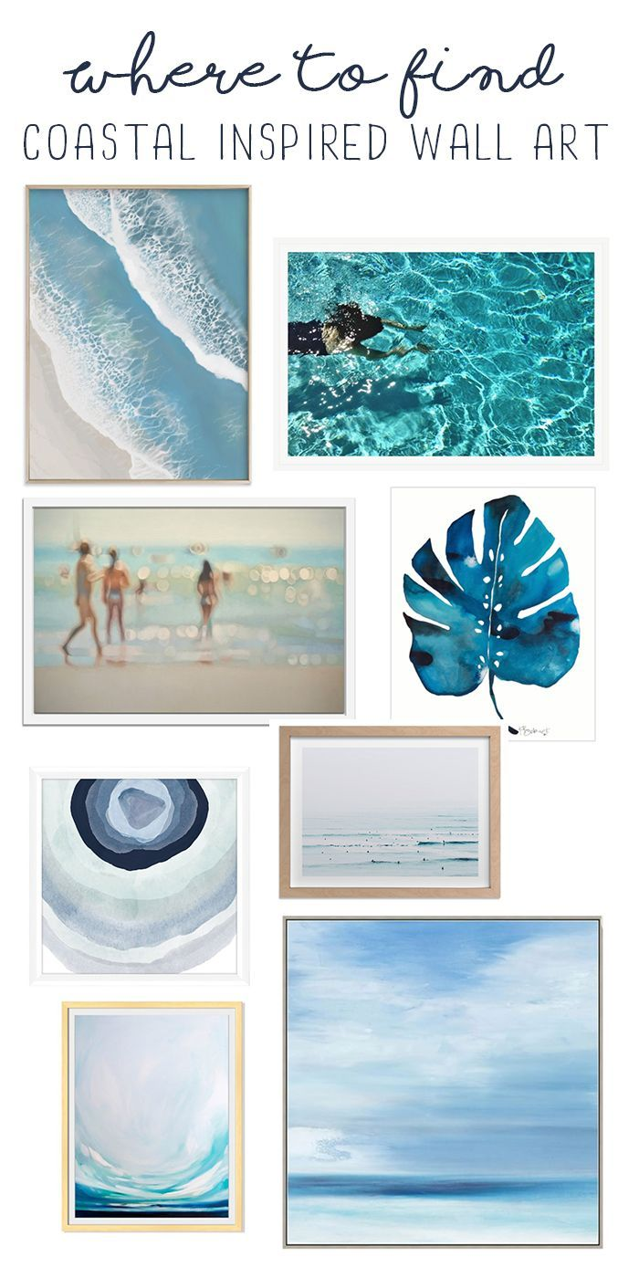 Where to find coastal wall art beach prints coastal decor coastalstyle wallart