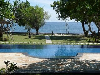Peaceful Beachfront Villa with Private Swimming Pool, Boat and First Class StaffVacation Rental in Pemuteran from @HomeAway! #vacation #rental #travel #homeaway