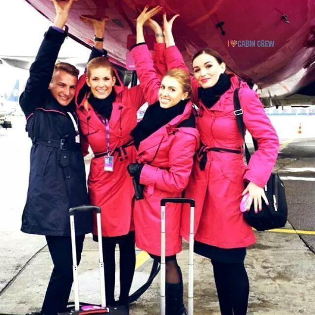 Wizz Air Cabin Crew Flight Attendant Female