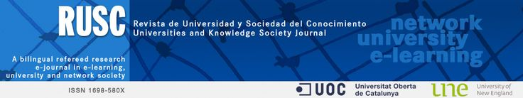 RUSC. Universities and Knowledge Society Journal Vol 10, N 2 July 2013