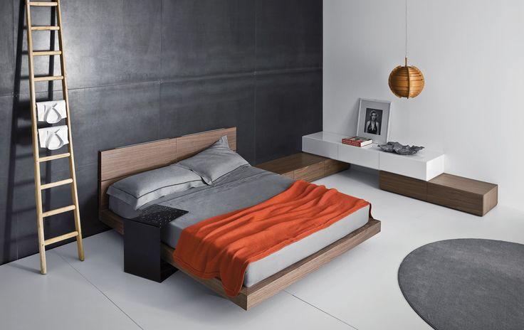 Letti e comodini | modelloPeople | Pianca design made in italy