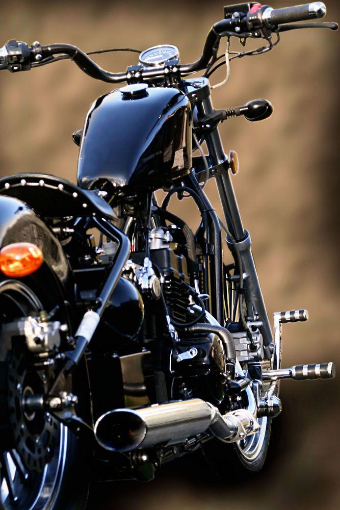 Old School Bobber Motorcycles   AJS Regal Raptor Bobber 125cc Old School Custom Bobber - Learner Legal ...