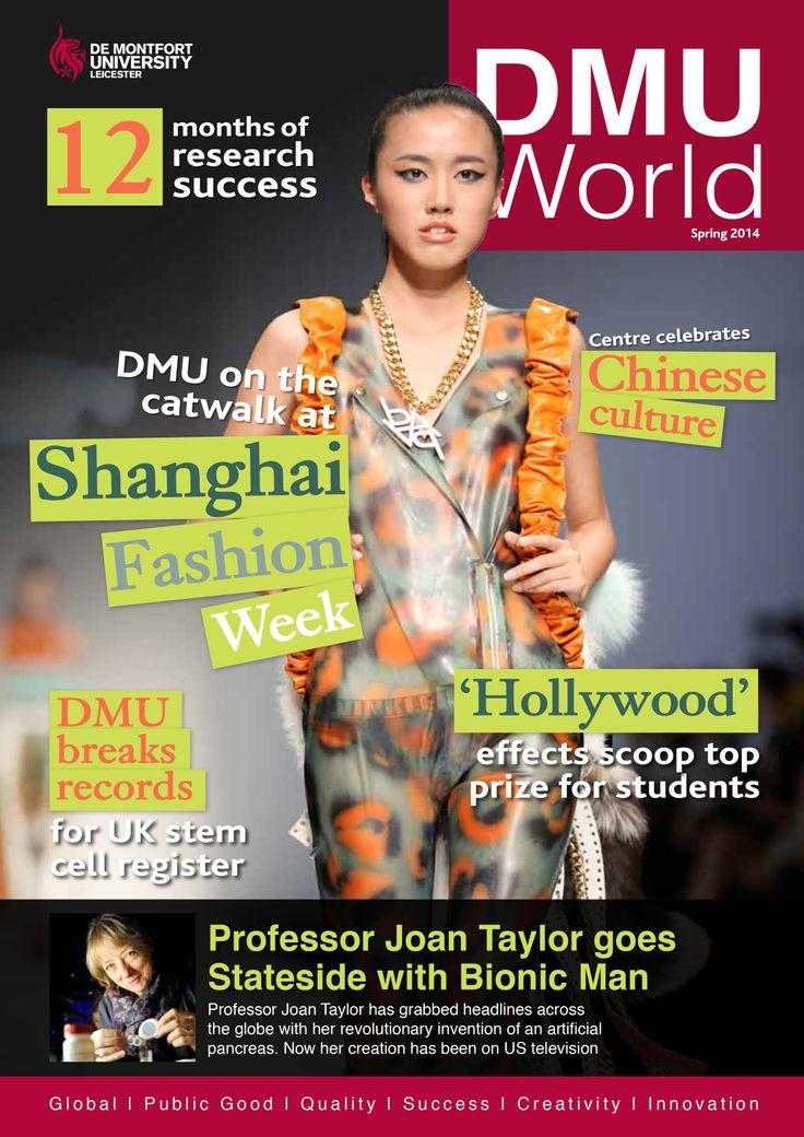 DMU World Spring 2014