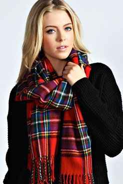 Jayne Tartan Scarf Wrap, €16.00 http://www.boohoo.com/europe/accessories/icat/new-in-accessories/jayne-tartan-scarf-wrap/invt/azz37759
