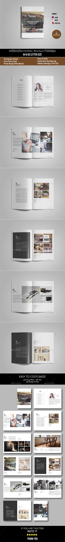Multipurpose Portfolio Brochure Catalogue The