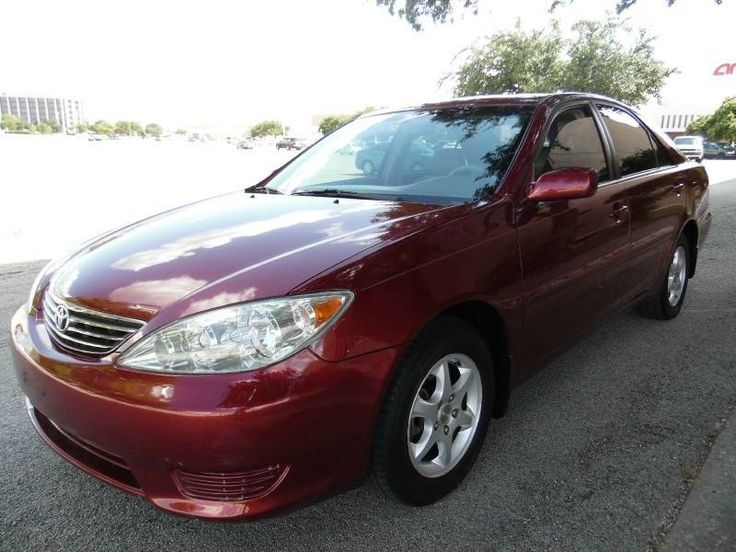 2005 Toyota Camry $5400 http://www.ecarspro.com/inventory/view/9335121