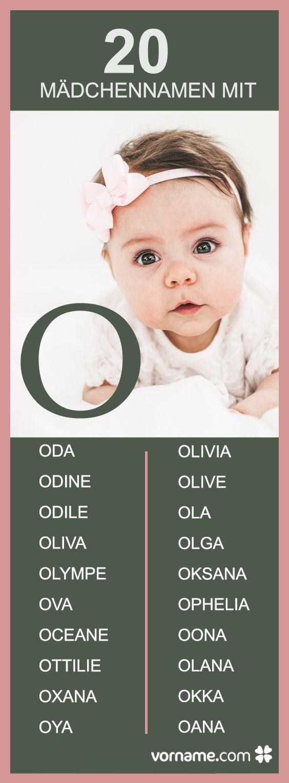"""Hier findest Du außergewöhnliche, beliebte und internationale Vornamen mit dem Anfangsbuchstaben """"O""""! Ist auch einer für Dein Baby dabei?"""