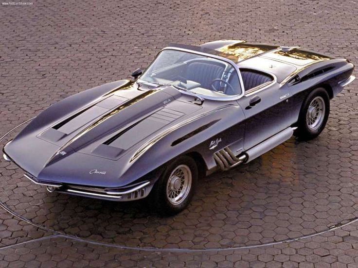 1961 Chevrolet Corvette Mako Shark...when was the last time you saw one of these!?