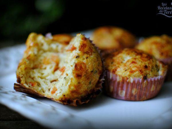 Pizza muffins con mozarella