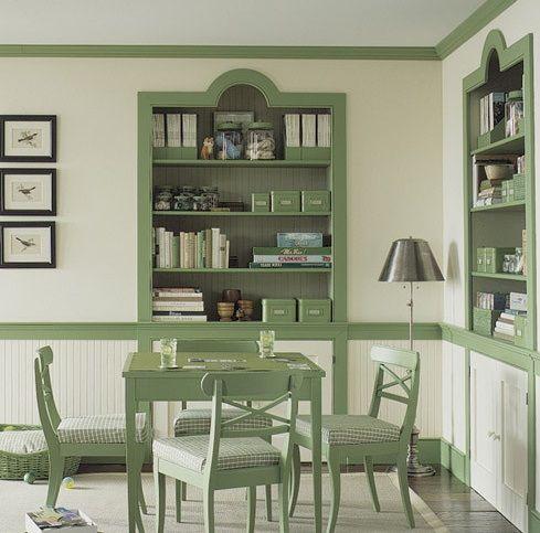 Tidak, anda tidak harus selalu menggunakan warna putih ketika mendekor ruangan kecil. Dengan menggunakan warna secara strategis, anda bisa merubah ruangan seketika kelihatan dan terasa lebih besar. GUNAKAN WARNA MONOKROMATIS Desainer David Stark (New York) menganjurkan untuk menerapkan cat dinding…