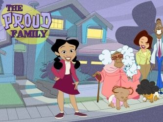 The Proud Family. Positive black family cartoon!