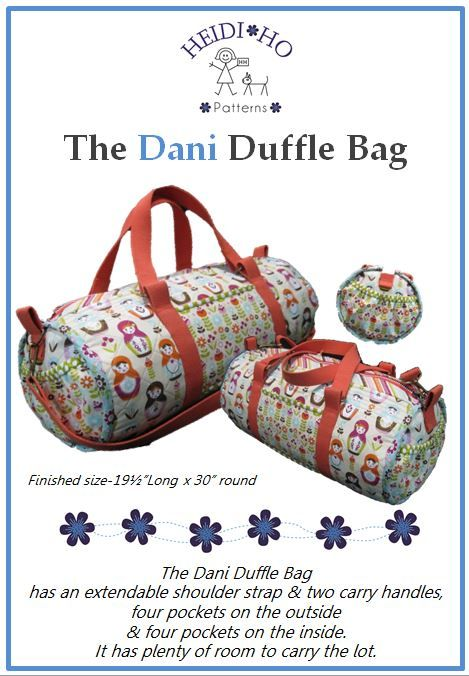 The Dani Duffle has everything you have been looking for in a Bag.