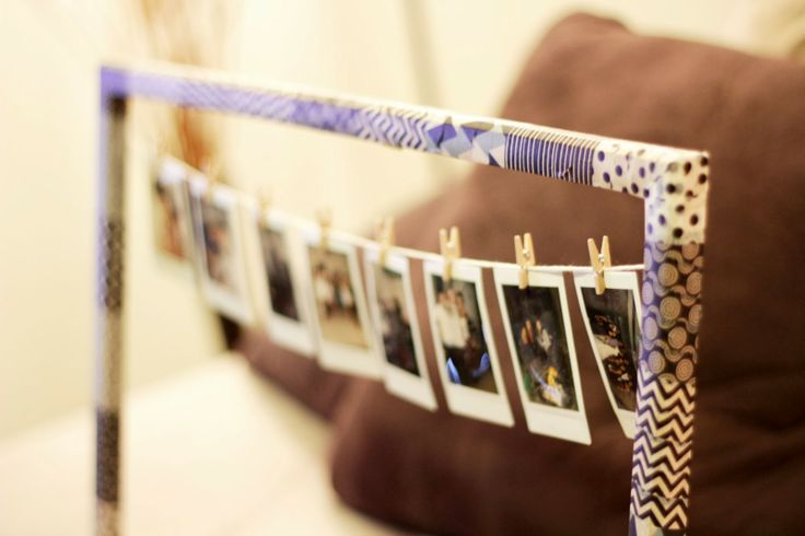 DIY Polaroid Display @Paxton Cove