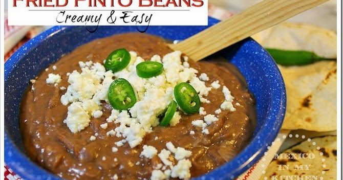 If you ever wonder how to make creamy pinto beans, here is an step by step photo tutorial to make your own home version of these delicious creamy beans.