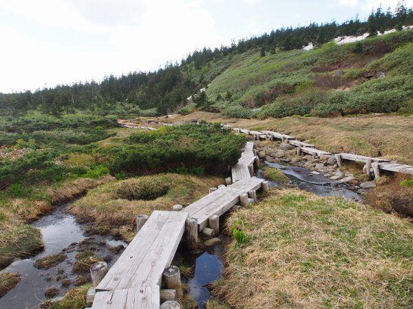 吾妻山(西吾妻山) 白布温泉登山口からの登山ルート案内