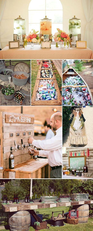 Ideas originales para el coctel de tu boda