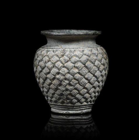 A Bactrian chlorite jar