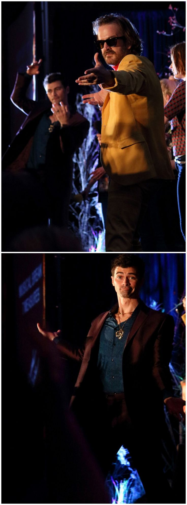 Richard and Matt looking handsome at karaoke! #SeaCon15