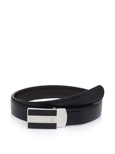 25% OFF Mont Blanc Men's Meisterstück Classic Line Belt, Black
