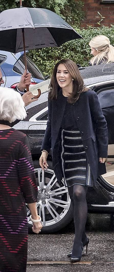 Danish Royal Family! — drubles-bestgum1: Crown Princess Mary attends...