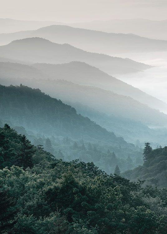 Forest Mountain, poster in der Gruppe Poster bei Desenio AB (8535)