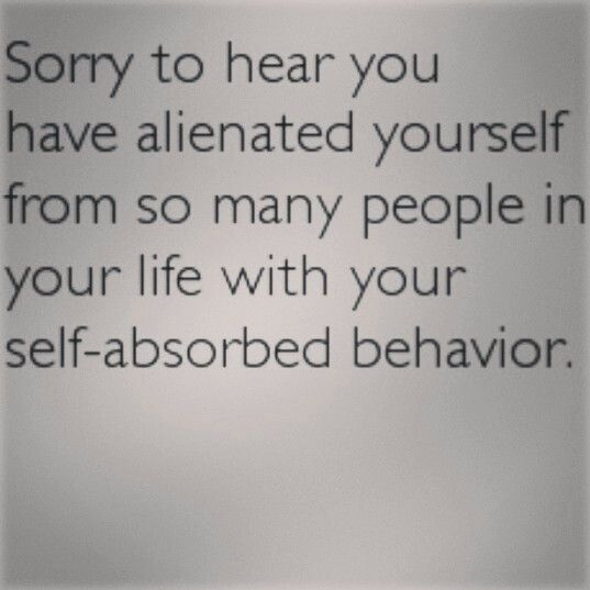 thesis on self absorbed people Maybe you're self absorbed  it has been estimated by the mental health association that some 19 million people in  is a new feature on elephant journal.