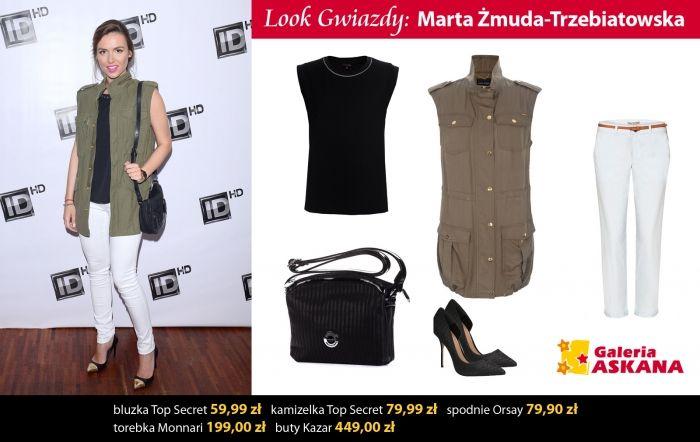 Look gwiazdy: Marta Żmuda-Trzebiatowska