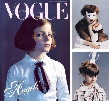 Sophie Delaporte/Nippon Vogue, Vogue Bambini Milk
