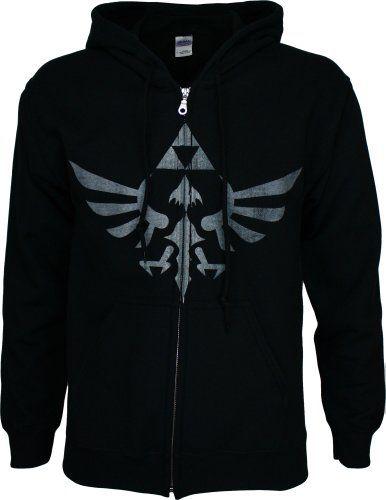 Legend Of Zelda Skyward Sword Crest Men's Zip Hoodie - http://www.psbeyond.com/view/legend-of-zelda-skyward-sword-crest-mens-zip-hoodie - http://ecx.images-amazon.com/images/I/41LoxUONE2L.jpg