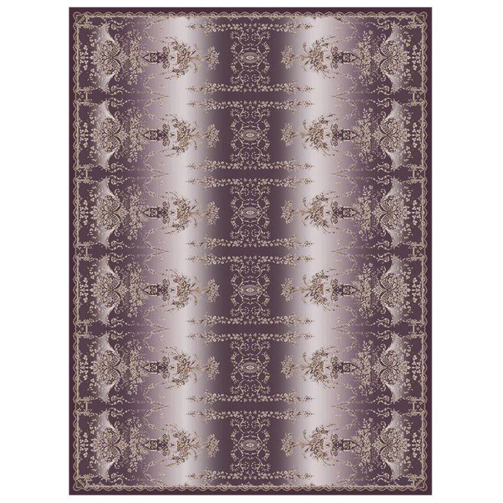 Ковер темно-фиолетового оттенка 'Отражение Империи' Livadia #carpet #rug #interior #designer #ковер #дизайн