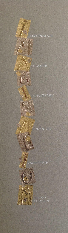 Peter Thornton gold leaf.