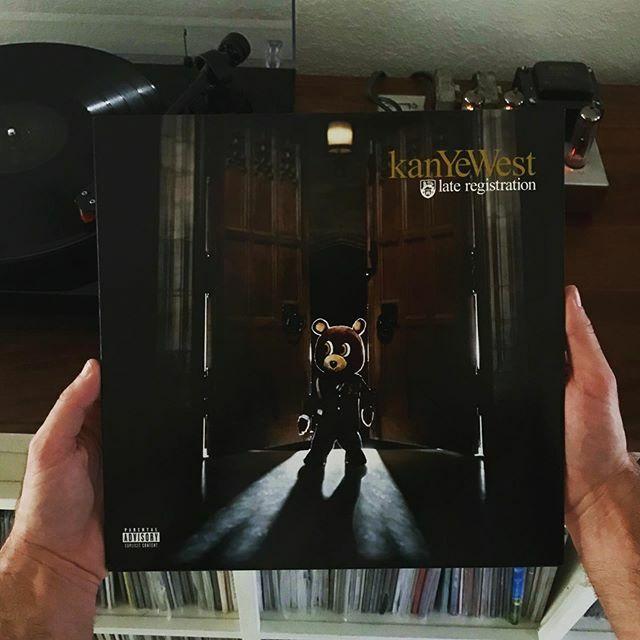 Clay The M Eek On Twitter Late Registration Vinyl Kanye West