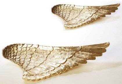 Lunares Home: Platters Gold, Angel Wings, Gift Ideas, Wings Platters, Kitchens Hom Gadgets, Angels Wings