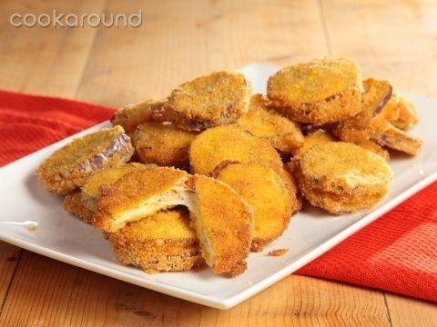 Melanzane fritte farcite con scamorza: Ricette di Cookaround | Cookaround