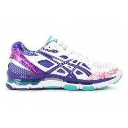 ASICS Gel-Netburner Professional 10 White/Magenta | Asics Shoes | The Athletes Foot