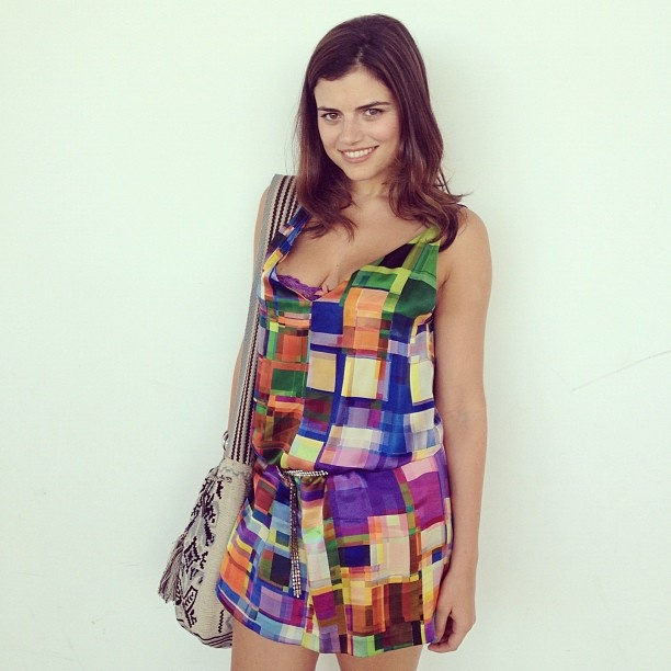 Daniella Jassir @ Cartagena de Indias  Dress: Francesca Miranda  Photo: The Face Hunter