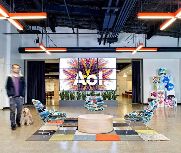 cool open office space cool office. AOL Has Cool Offices. Office SpacesOpen Open Space
