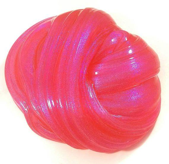 Rose de sucre Silly Putty Slime bonbonnière Stress Relief