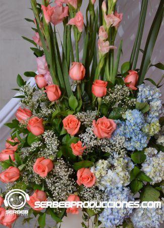 Arreglo Floral de Entrada