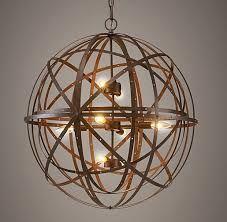 Image result for sphere chandelier