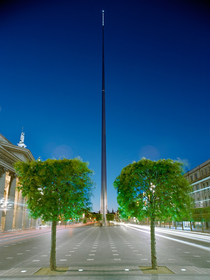 The Spire, O'Connell St . So much history on that one street....