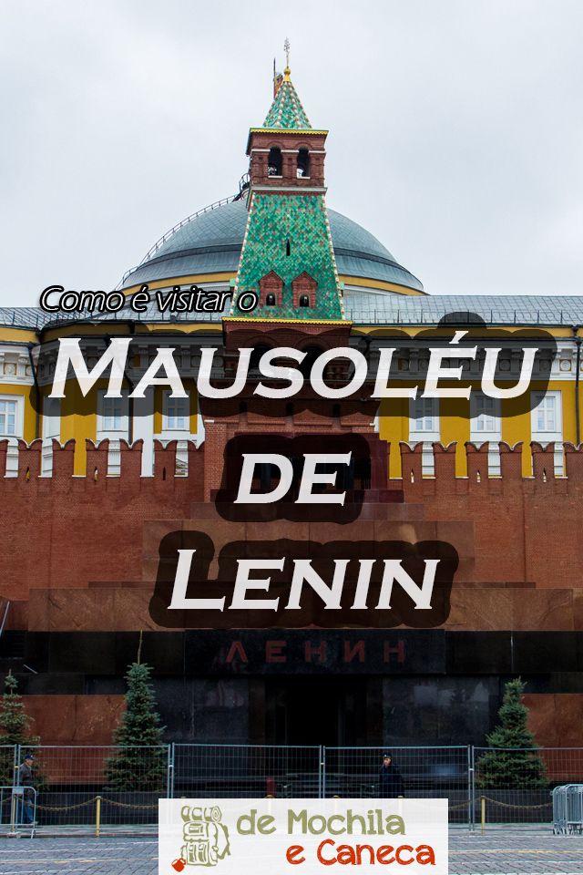 Você já imaginou visitar o corpo de uma pessoa que morreu há quase 100 anos? Na Rússia isto é possível! Um dos maiores atrativos da cidade é o Mausoléu de Lenin, onde está o corpo de Vladimir Lenin, o líder da revolução de  1917. Independente de sua posição politica, é um atrativo imperdível!!! Saiba mais: