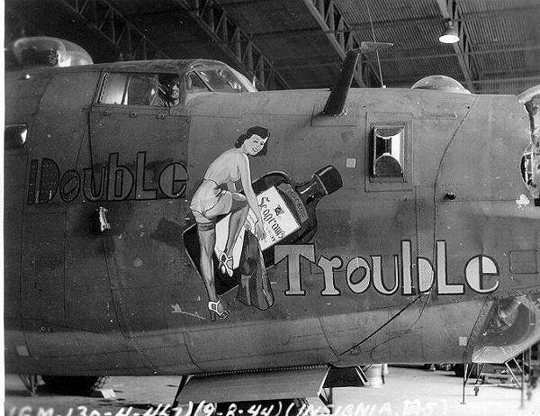 420 beste afbeeldingen over WWII and after Plane Nose Art ...  420 beste afbee...