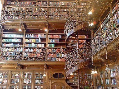George Vanderbilts Biltmore House Library, Asheville, N.C., USA  - Someday, I want a library just like this!