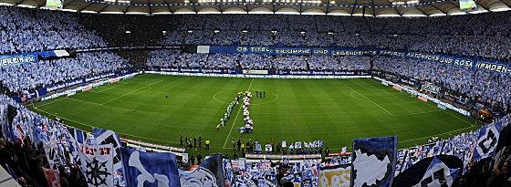 Stadion des HSV Hamburg