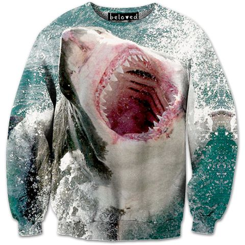 Great White Sweatshirt // Beloved Shirts